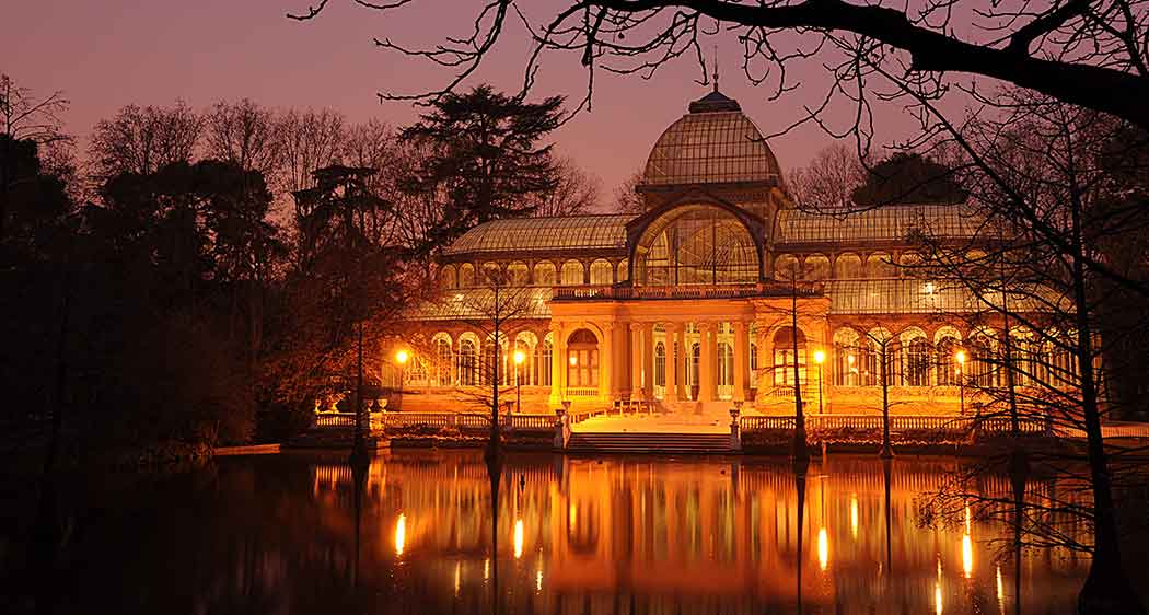 Crystal Palace, Parque del Retiro, Madrid. A place where MBA students can visit after paying their MBA tuition fees.