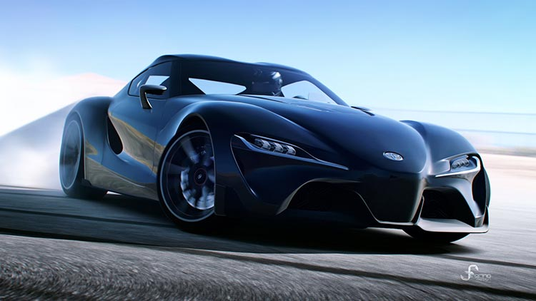 Prototipo de coche deportivo ideado por un ingeniero que ha estudiado un máster MBA.