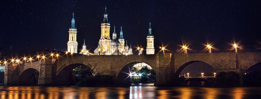 Panorámica de Zaragoza, una buena ciudad para estudiar un máster MBA posgrado