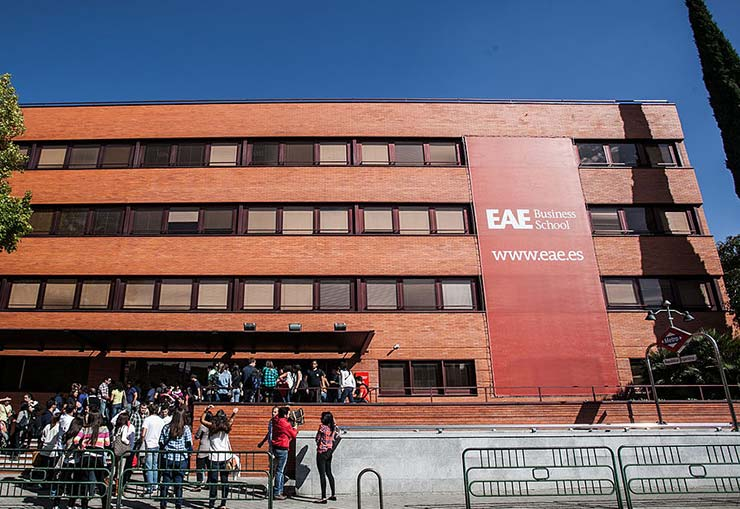EAE Business School, edificio del campus de Madrid.
