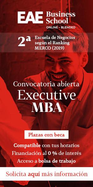 Anuncio del máster Executive MBA online de EAE Business School