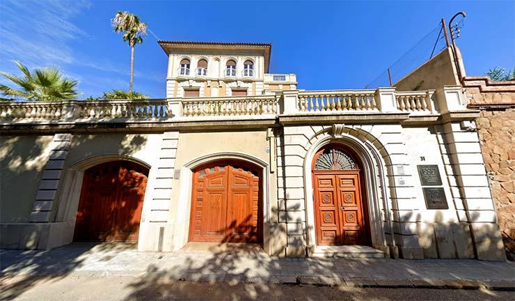 Fachada de ESEI International Business School Barcelona, una escuela que dispone de MBA.