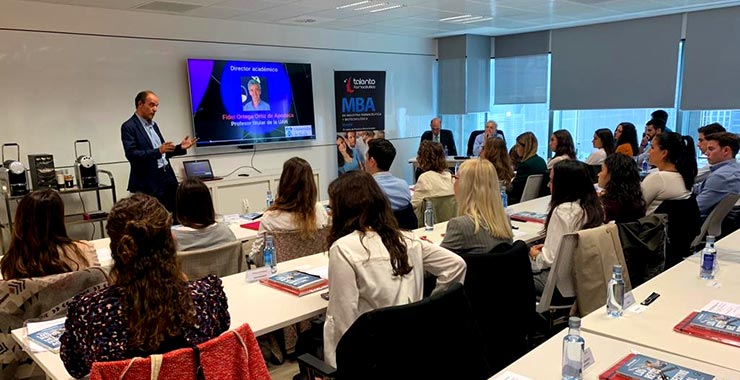 Aula del MBA espcializado en industria farmacéutica de Talento Farmacéutico Formación