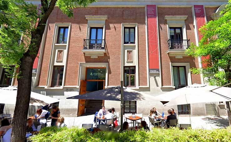 UCJC Universidad Camilo José Cela, Campus de la calle Almagro en Madrid, en el que se estudia su MBA oficial en Dirección de la Empresa Familiar