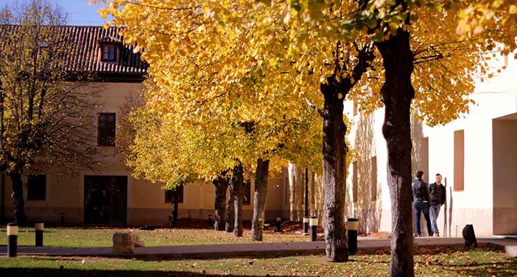 Campus de la Universidad Rey Juan Carlos URJC en Aranjuez. En este campus no se imparte su MBA, pero es bonito.